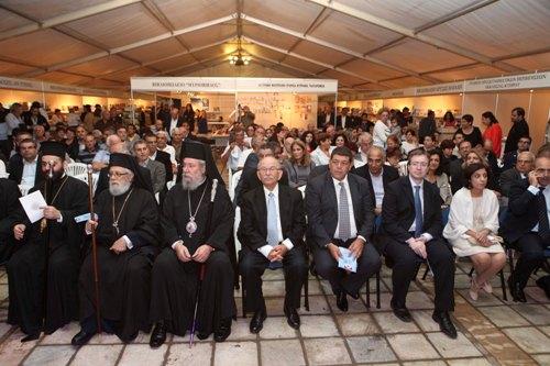 Χαιρετισμός του Επιτρόπου Προεδρίας κ. Γιώργου Ιακώβου στα εγκαίνια της Έκθεσης Βιβλίου (26-10-2012)