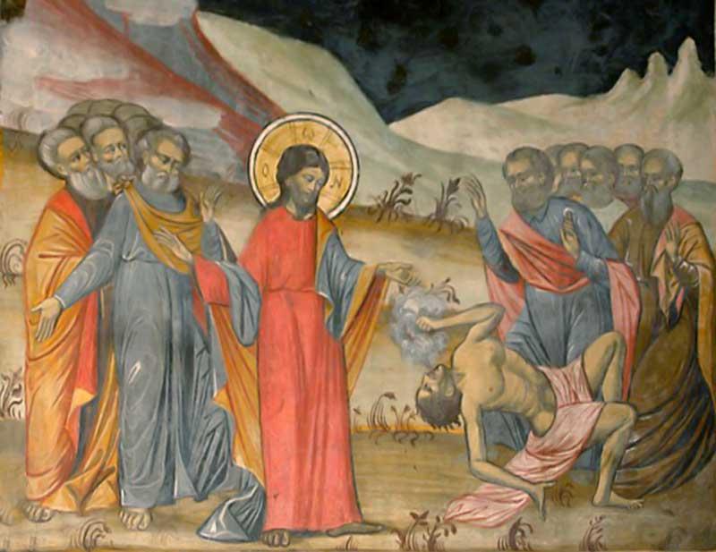 Κυριακή Δ' των Νηστειών (Αγίου Ιωάννου της Κλίμακος), Ευαγγ. Ανάγνωσμα: Μκ. θ' 17-31 (29-03-2020)