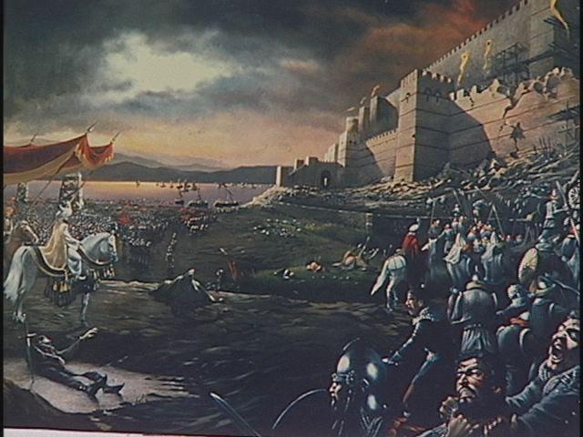 Η πτώση της Βυζαντινής αυτοκρατορίας