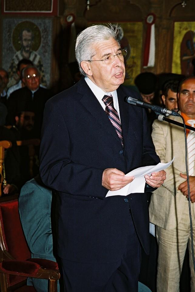 Προσφώνηση του Δημάρχου Αμμοχώστου κ. Αλέξη Γαλανού