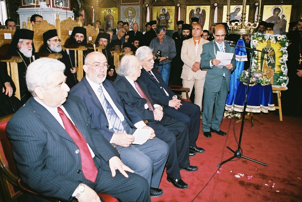 Ομιλία Δημάρχου Παραλιμνίου