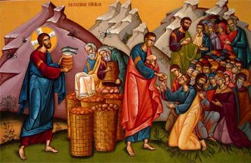 Κυριακή Η΄ Ματθαίου, Ευαγγ. Ανάγνωσμα: Ματθ. ιδ' 14-22 (02-08-2020)