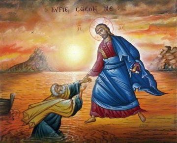 Κυριακή Θ΄ Ματθαίου, Ευαγγ. Ανάγνωσμα: Μτθ. ιδ' 22-34 (09-08-2020)
