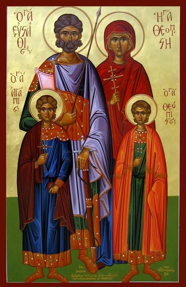Ο Άγιος Μεγαλομάρτυς Ευστάθιος (20 Σεπτεμβρίου)