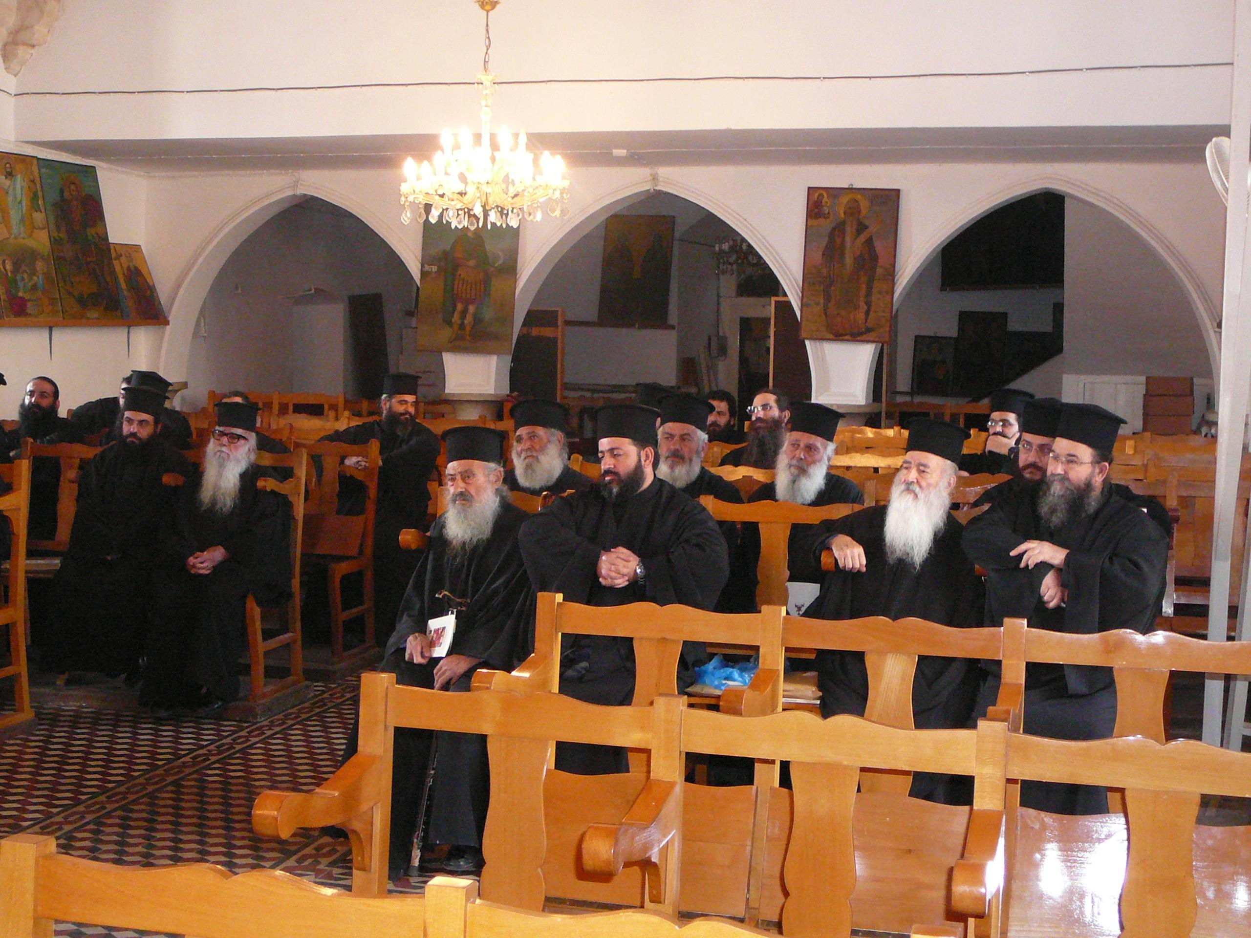 Ομιλία προς τους Ιερείς της Ιεράς Μητροπόλεως Κωνσταντίας-Αμμοχώστου