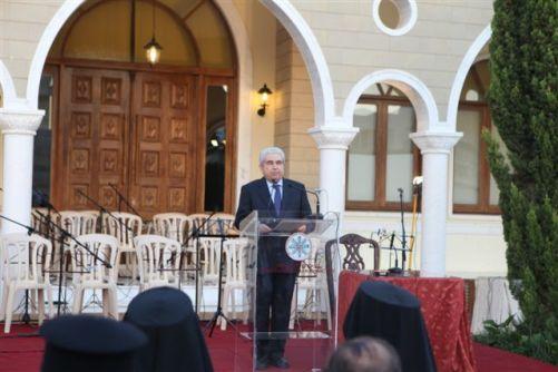 Χαιρετισμός Προέδρου Δημοκρατίας – Β' Κληρικολαική Συνελ. (10-5-2012)