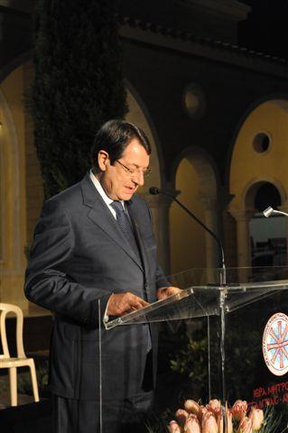 Χαιρετισμός Προέδρου Δημοκρατίας στην Γ' ΚληρικολαΙκή Συνέλευση (9-5-2013)