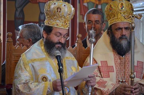 Προσφώνηση του Θεοφιλεστάτου Επισκόπου Μεσαορίας κ. Γρηγορίου, στα Εγκαίνια της 3ης Διεθνούς Έκθεσης Βιβλίου Κύπρου
