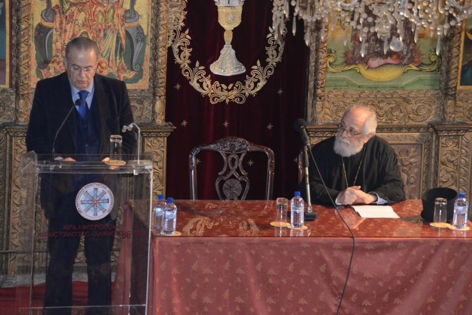 Σύγκρουση και ειρηνική συνύπαρξη λαών, θρησκειών και Πολιτισμών (19-1-2017)