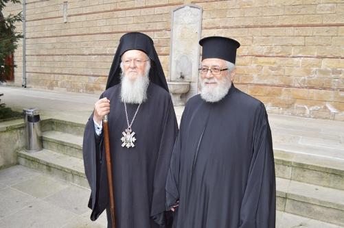 Ο Μητροπολίτης Κωνσταντίας στο Οικουμενικό Πατριαρχείο