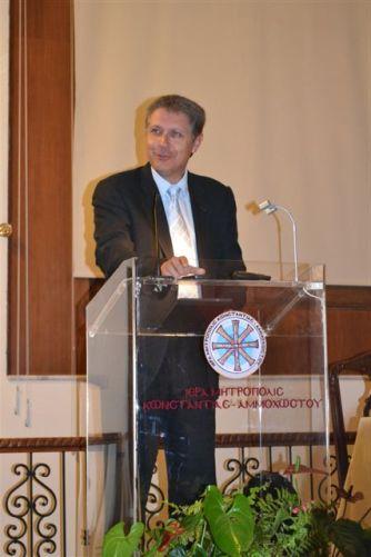 Τελετή λήξης Σαλαμίνειου Ελεύθερου Πανεπιστημίου Αμμοχώστου (17-5-2012)