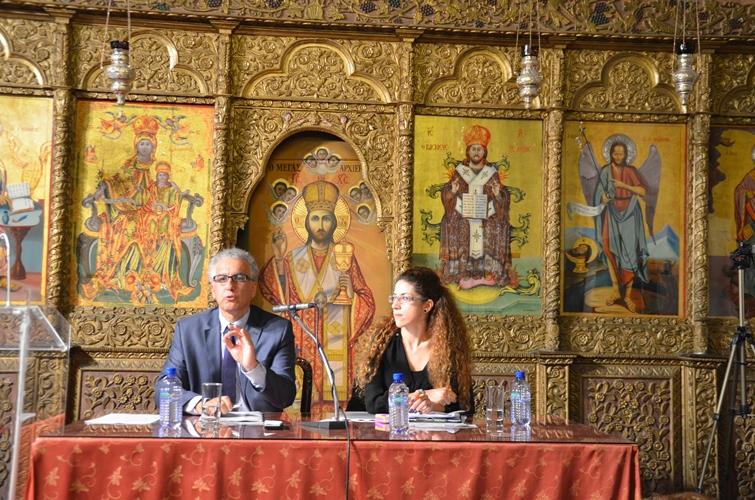 Τελετή Έναρξης- Πρώτη διάλεξη Δ΄ Κύκλου Σαλαμίνιου Ελεύθερου Πανεπιστημίου (23-10-2014)