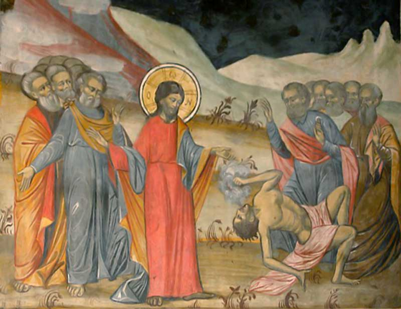 Κυριακή Δ' των Νηστειών (Αγίου Ιωάννου της Κλίμακος), Ευαγγ. Ανάγνωσμα: Μκ. θ' 17-31 (7-4-2019)