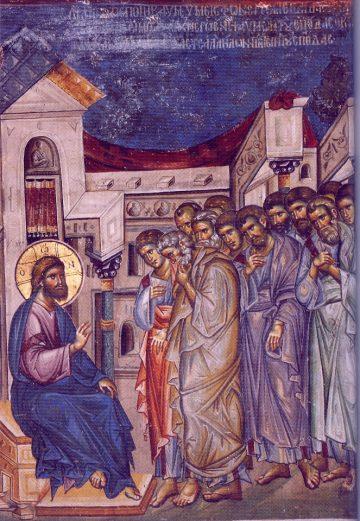 Κυριακή E΄ των Νηστειών (Οσίας Μαρίας της Αιγυπτίας, Ευαγγ. Ανάγνωσμα: Μαρκ. ι' 32-45 (05-04-2020)