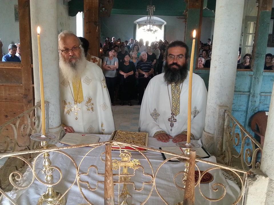 Ανακοίνωση για Θεία Λειτουργία στο ναό Αγίου Επιφανίου στη Μηλιά Αμμοχώστου