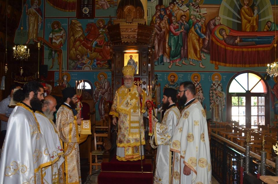 Εορτάστηκε η μνήμη της Αγίας Ματρώνας της Αομμάτου (21-5-2017)
