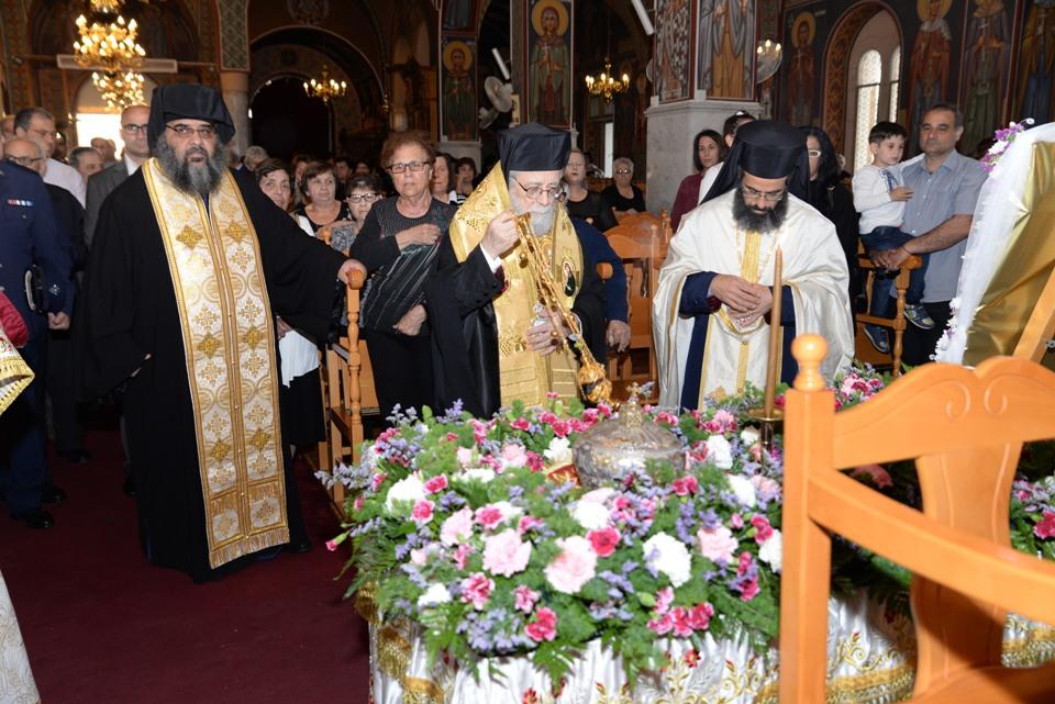 Η Μητρόπολη Κωνσταντίας υποδέχθηκε τον πολιούχο της Άγιο Επιφάνιο (4-5-2017)