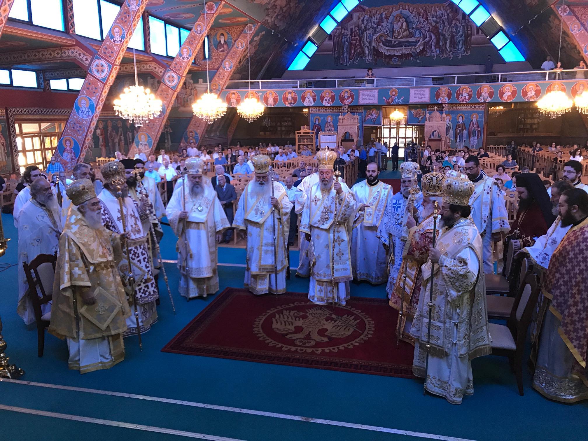 Αρχιερατικό Συλλείτουργο επ' ευκαιρία της εορτής του Αποστόλου Βαρνάβα (Τρίτη, 11 Ιουνίου 2019)