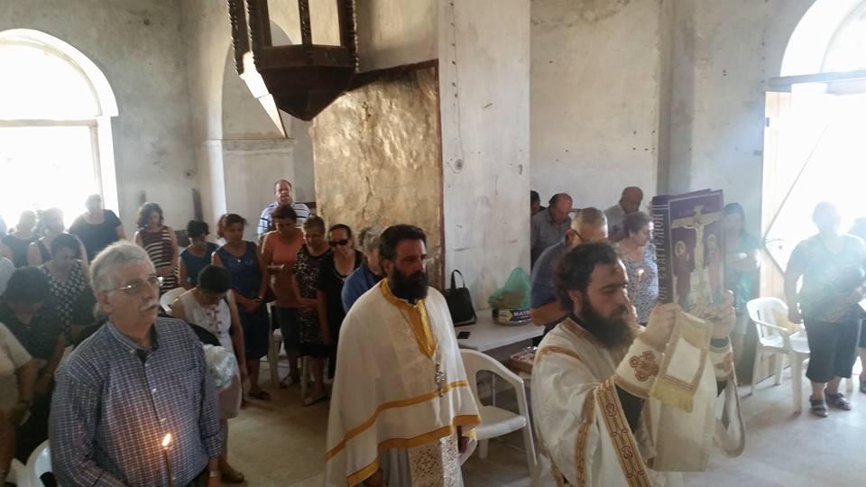 Ανήμερα του Αγίου Προκοπίου στην κατεχόμενη Σύγκραση (8-7-2017)