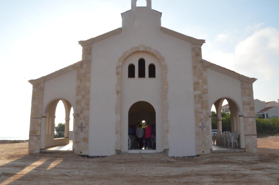 Θεία Λειτουργία στο εξωκλήσι του Απ. Ανδρέα στον Πρωταρά