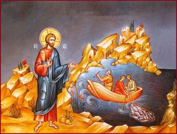 Κυριακή Α΄ Λουκά, Ευαγγ. ανάγνωσμα: Λουκά 5, 1-11 (24-9-2017)
