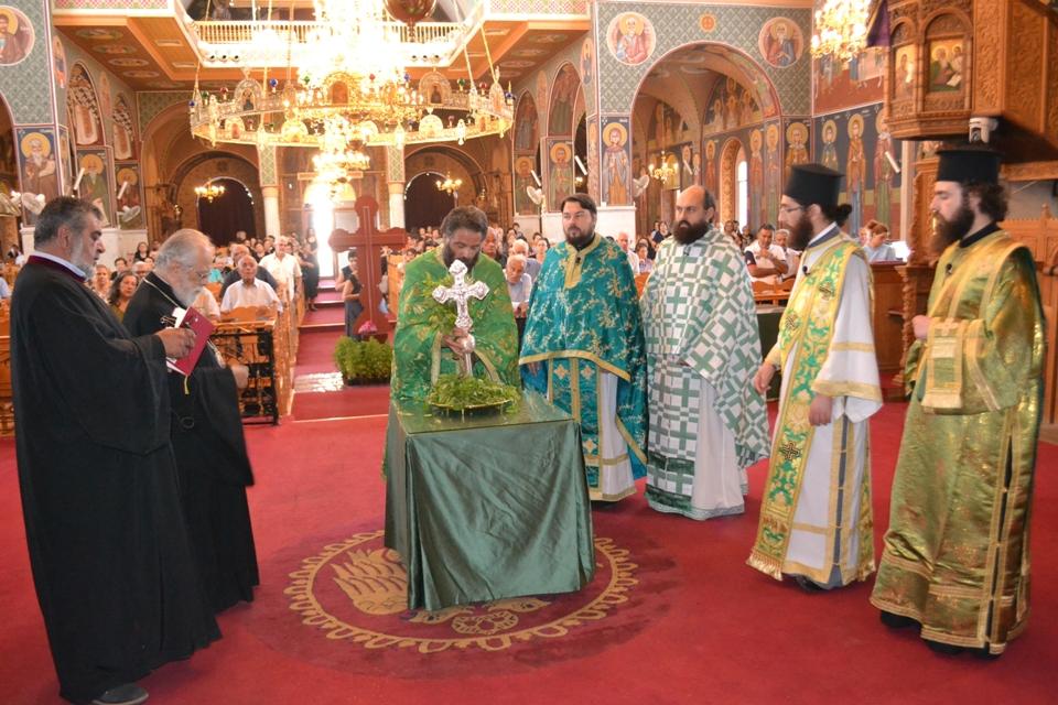 Η εορτή της Παγκοσμίου Υψώσεως του Τιμίου Σταυρού στον Μητροπολιτικό Αγίου Γεωργίου (14-9-2017)