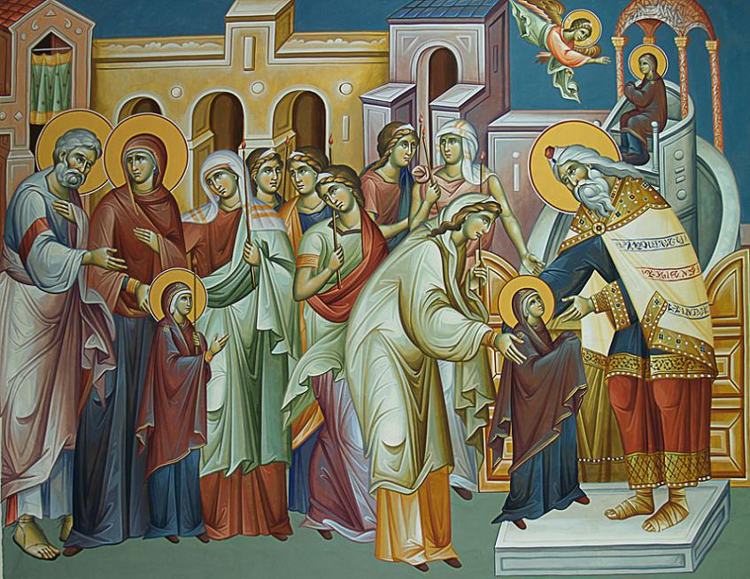 Ἡ ἑορτή των Εἰσοδίων τῆς Θεοτόκου Θεολογικό καί ἀνθρωπολογικό περιεχόμενο