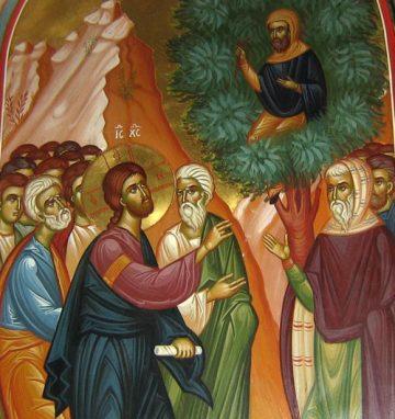 Κυριακή ΙΕ΄ Λουκά (Του Ζακχαίου) Ευαγγ. Ανάγνωσμα: Λουκ. ιθ' 1-10 (26-01-2020)