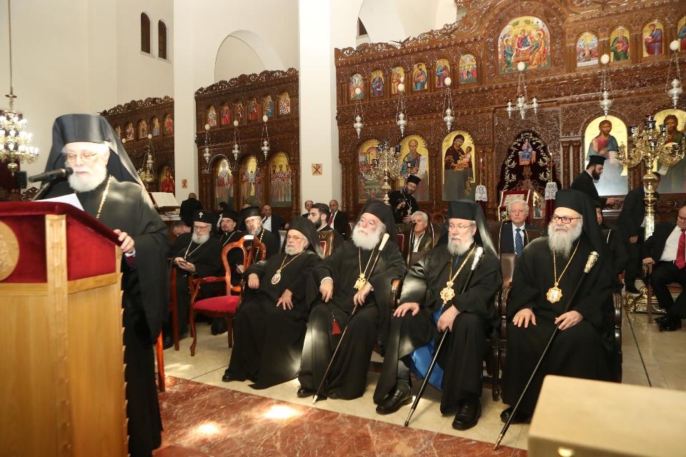 Ομιλία Μητροπολίτη Κωνσταντίας στην Κληρικολαϊκή Συνέλευση της Εκκλησίας Κύπρου