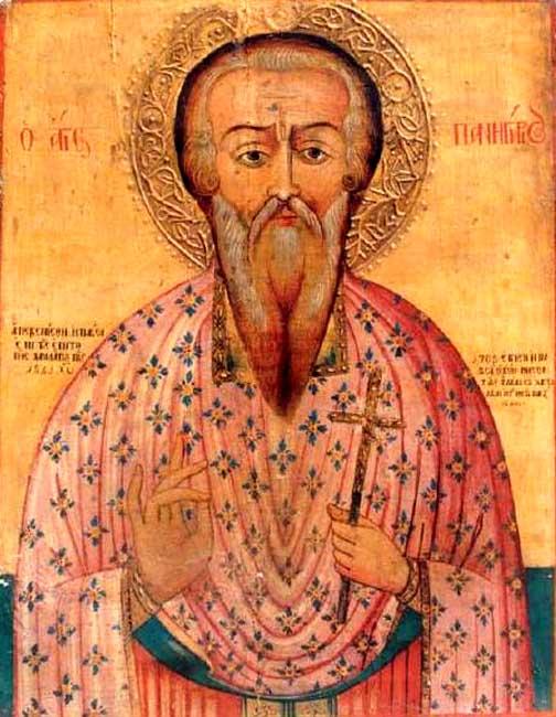 Ο Άγιος Πανηγύριος ο Θαυματουργός (15 Μαΐου)