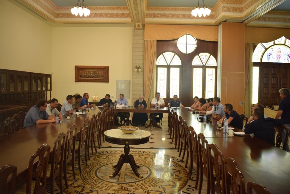 Σύσκεψη για ανθρωπιστική βοήθεια των Πυρόπληκτων αδελφών μας στην Ελλάδα