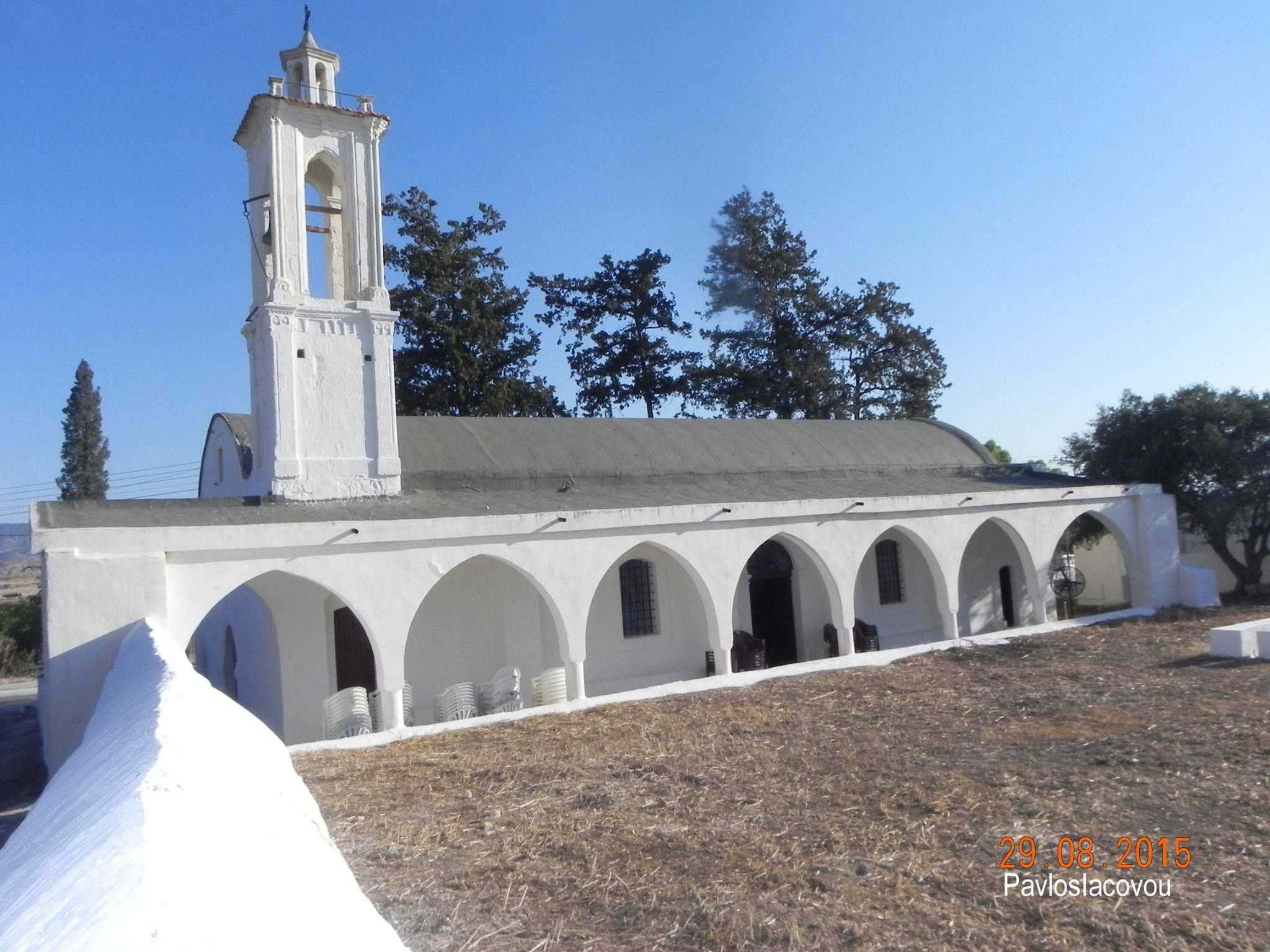 Θεία Λειτουργία στον Ιερό Ναό Τιμίου Προδρόμου στην κατεχόμενη Γύψου (25-08-2019)