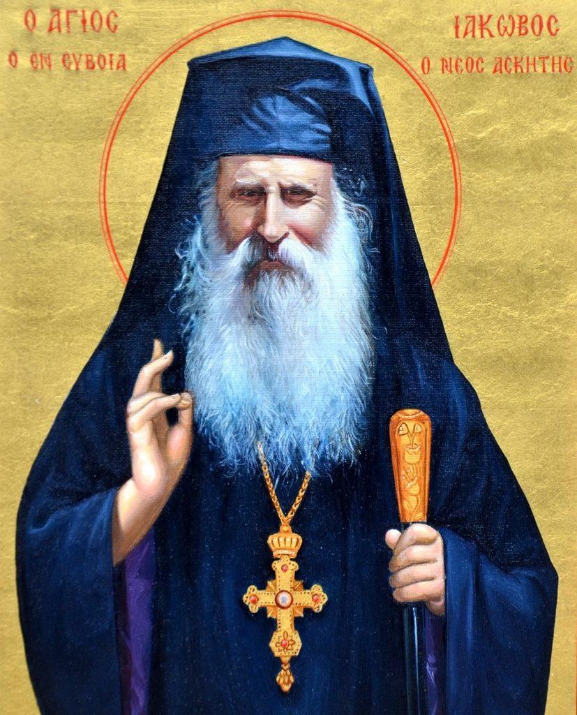 Ο Άγιος Ιάκωβος, Ηγούμενος της Μονής Οσίου Δαυίδ (22 Νοεμβρίου)