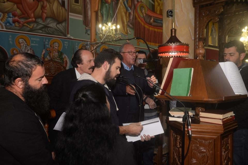 Esperinos Agias Varvaras Xeirothesia Arxontos 2018 (75)
