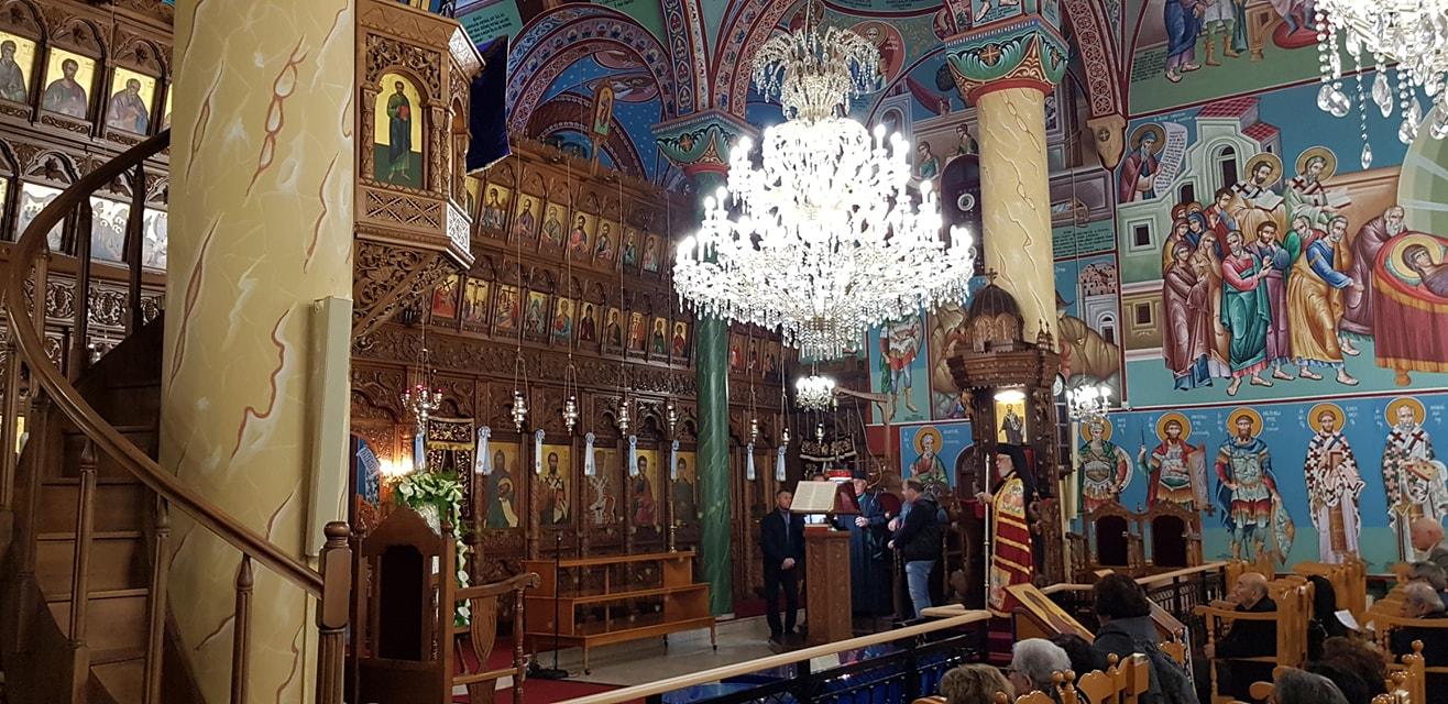 Ακολουθία Γ' Χαιρετισμών στον Ιερό Ναό Αγίας Βαρβάρας Συνοικισμού Παραλιμνίου