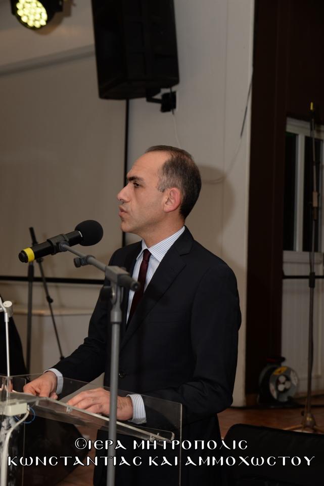 Χαιρετισμός Εξοχοτάτου Προέδρου Κυπριακής Δημοκρατίας