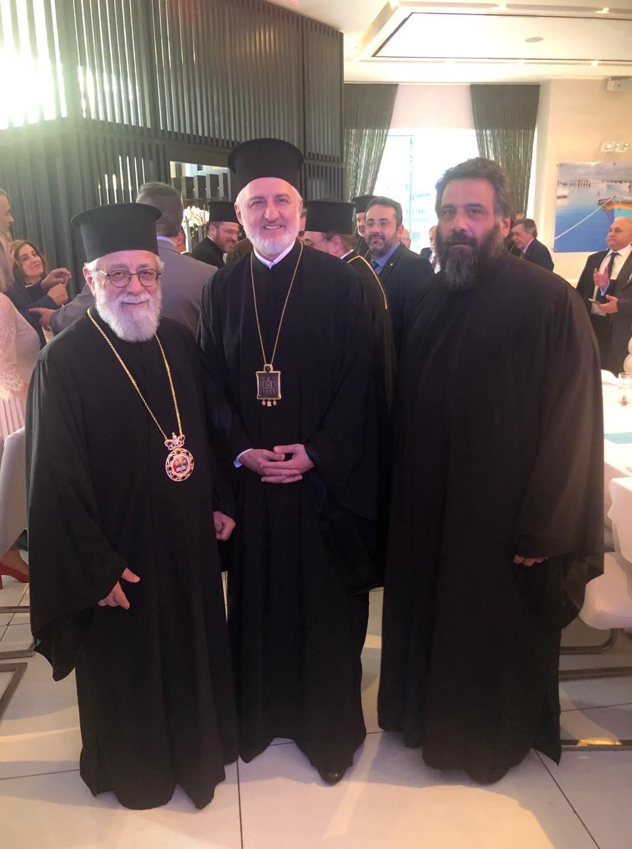 Ο Μητροπολίτης Κωνσταντίας στην ενθρόνιση του νέου Αρχιεπισκόπου Αμερικής κ. Ελπιδοφόρου