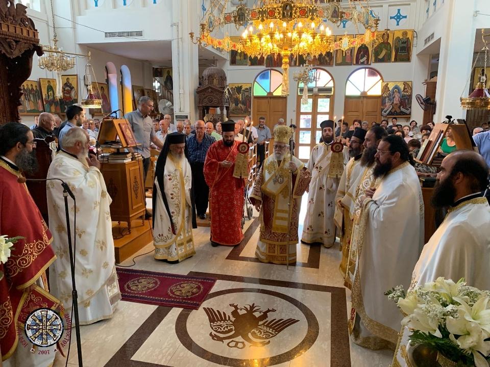 Με θρησκευτική κατάνυξη και κάθε επισημότητα η Δεσποτική εορτή της Μεταμορφώσεως