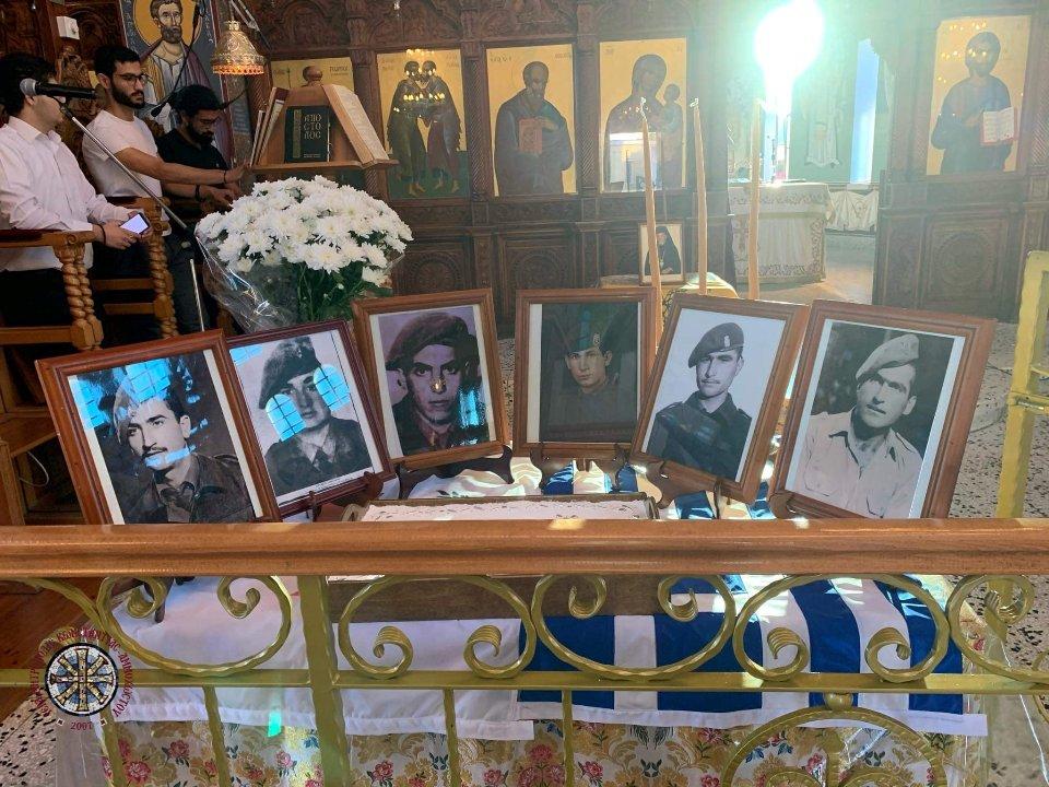 Τελέστηκαν τα εθνικοθρησκευτικά μνημόσυνα των ηρώων 1974 της κοινότητας Φρενάρους
