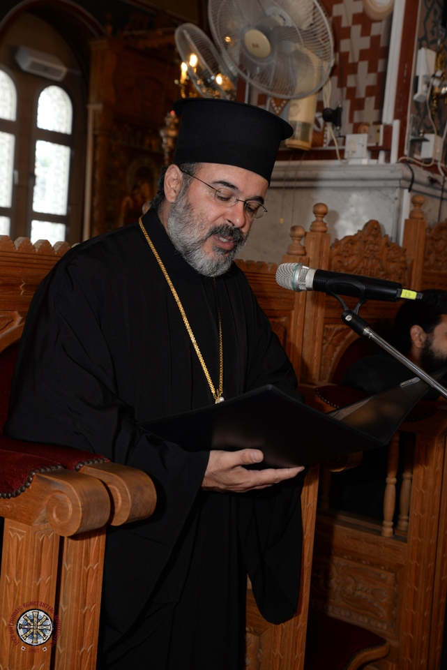 Χαιρετισμός Μακαριωτάτου Αρχιεπισκόπου Κύπρου στην Ε' Διεθνή Έκθεση Βιβλίου Κύπρου