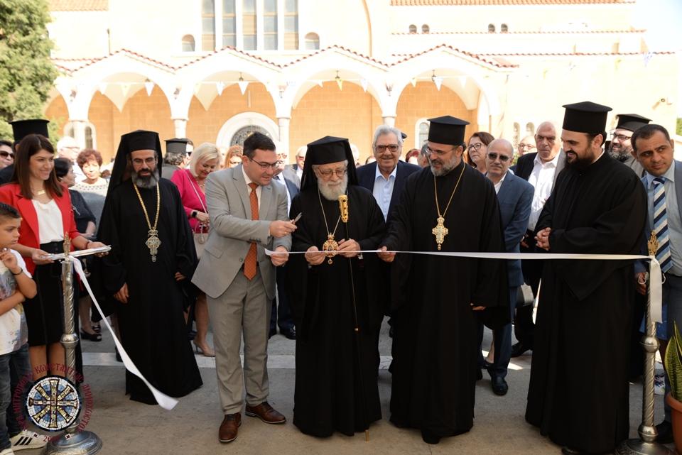 Άνοιξε τις πύλες της η Ε' Διεθνής Έκθεση Βιβλίου Κύπρου