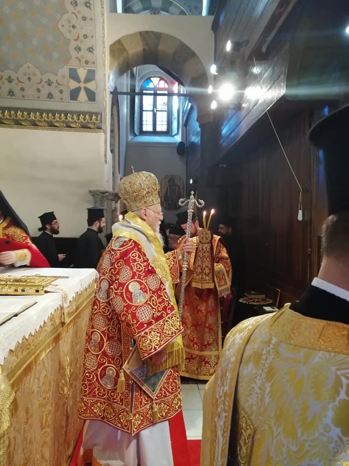2019 11 30 Throniki Eorti Oikoumenikou Patriarxeiou (3)