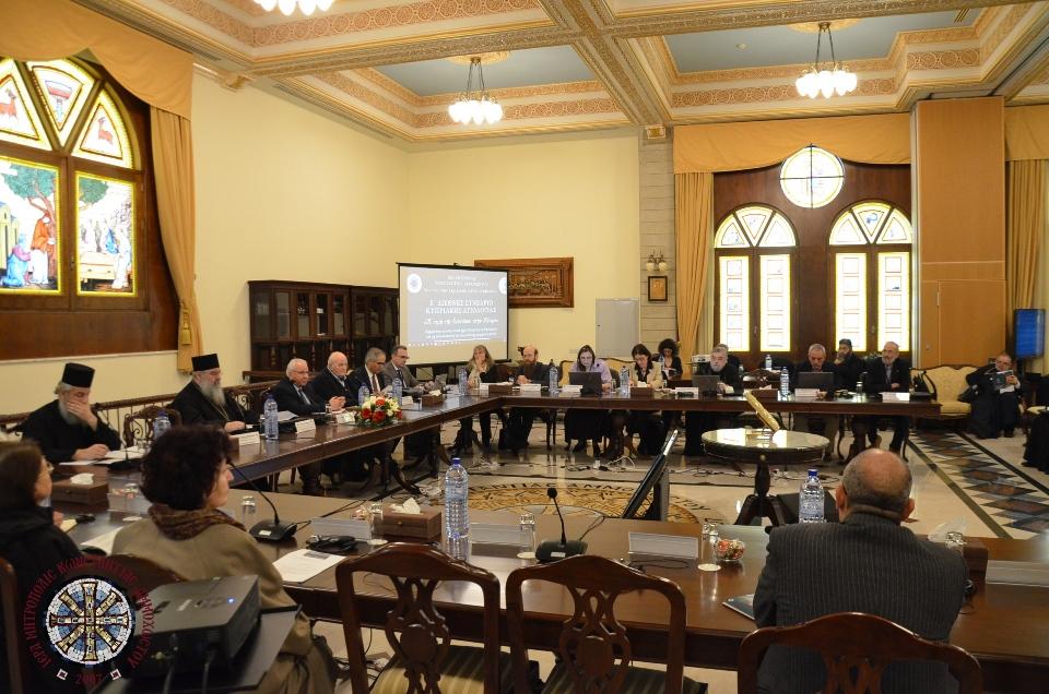 Δεύτερη μέρα εργασιών του Ε' Διεθνούς Συνεδρίου Κυπριακής Αγιολογίας