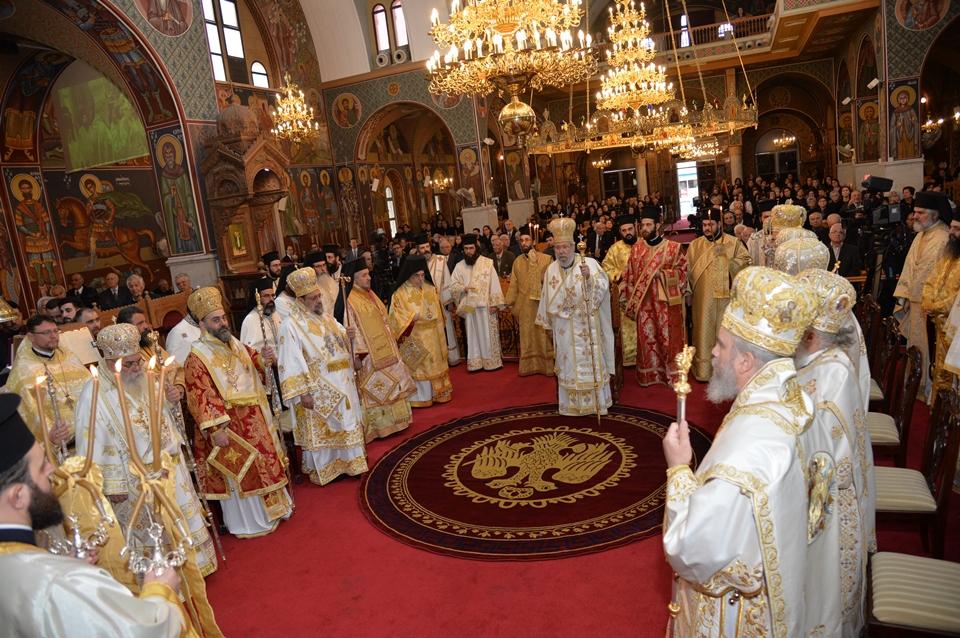 Πολυαρχιερατικό Συλλείτουργο και τιμητική εκδήλωση για τα 60 χρόνια Εκκλησιαστικής Διακονίας