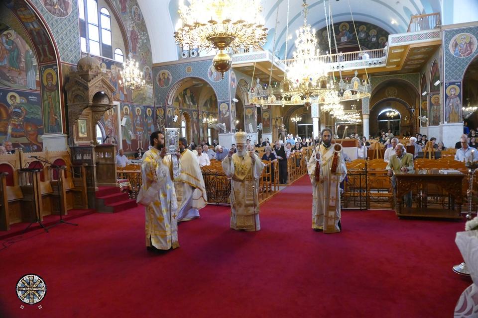 Κυριακή του Τυφλού με τη συμμετοχή και πάλι των πιστών.