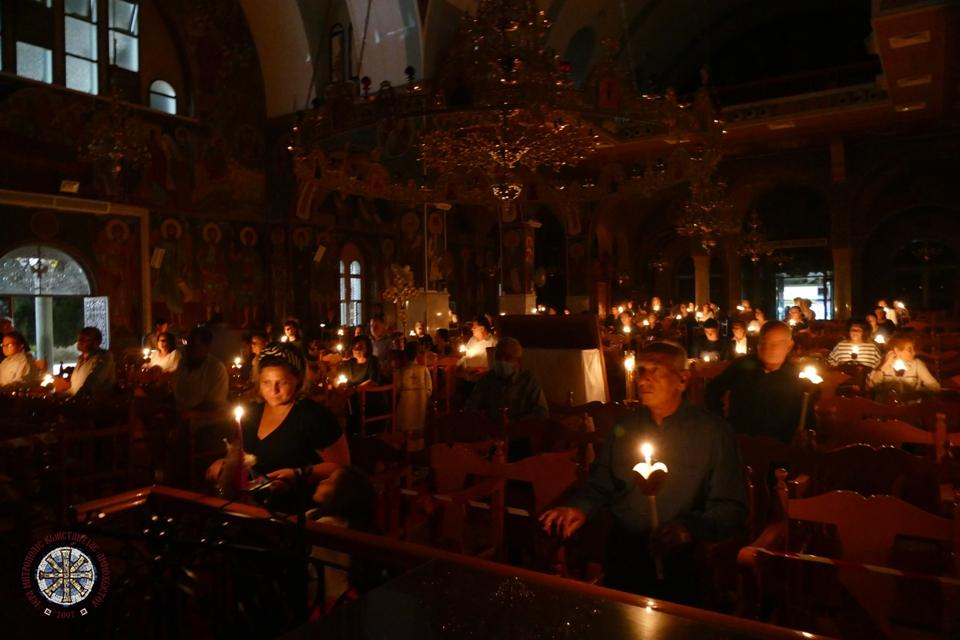 Ιερά Αγρυπνία για την Απόδοση της εορτής του Πάσχα