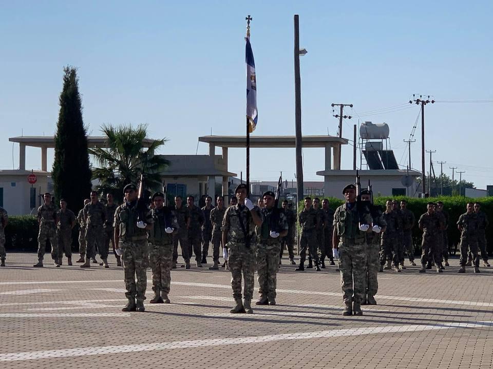 Ορκομωσία νέων οπλιτών 2020Β ΕΣΣΟ της 7ης Μ/Κ Ταξιαρχίας Πεζικού