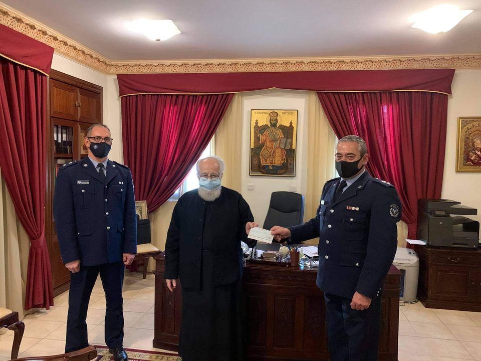 Η Αστυνομική Διεύθυνση Αμμοχώστου ενισχύει το φιλανθρωπικό έργο της Ιεράς Μητροπόλεως