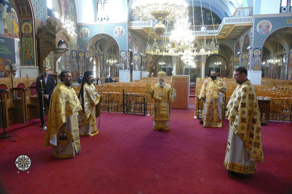 Πρωτοχρονιά και Ονομαστήρια Πανιερωτάτου Μητροπολίτου Κωνσταντίας κ. Βασιλείου