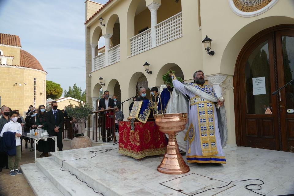Τηρώντας τα έθιμα της Αμμοχώστου ο εορτασμός των Θεοφανείων στο Παραλίμνι